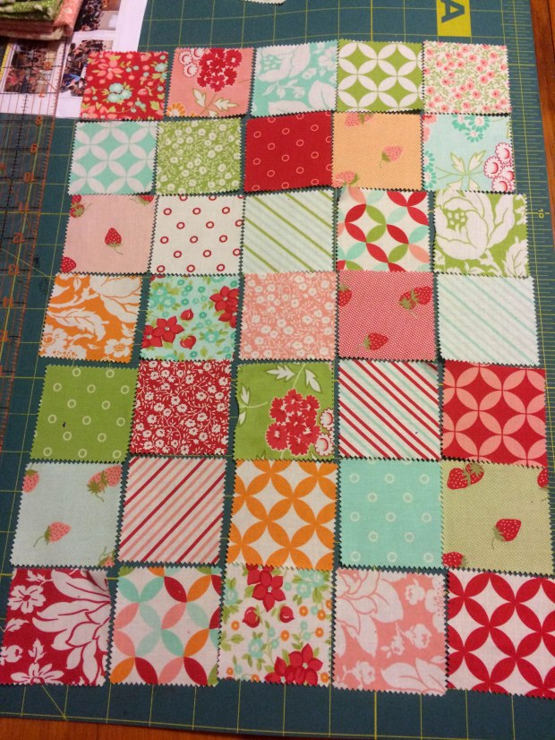 Quilted Bible Cover Layout