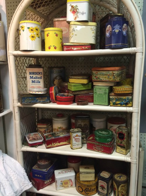 Tin Cans - Spring Antique Mall