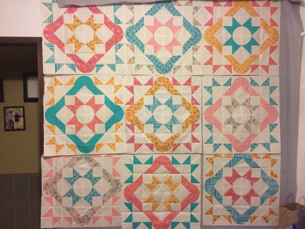 Finished Blocks - Summer Solstice QAL