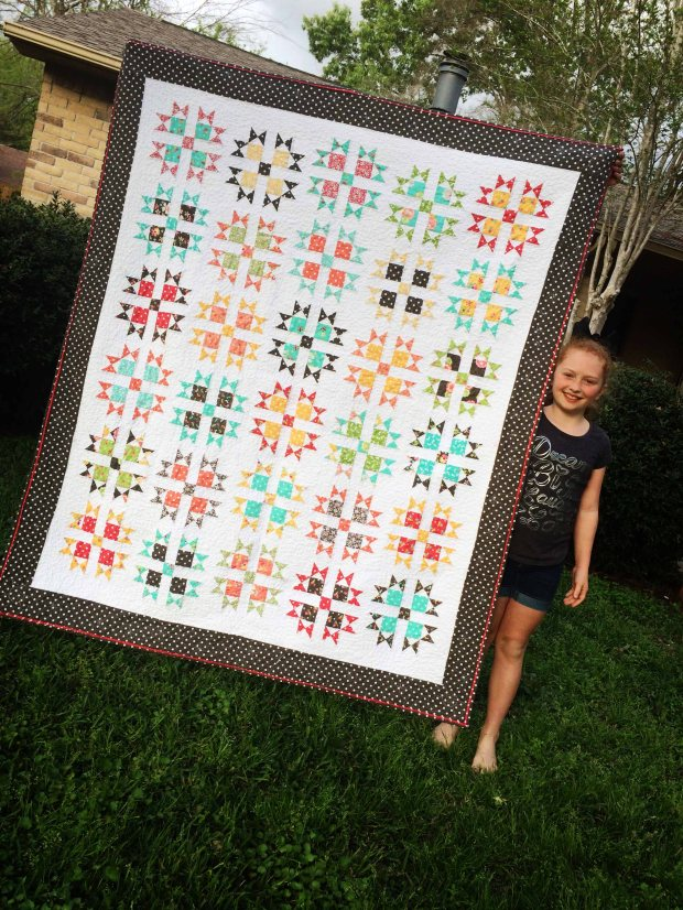 The Receiver - SocoCharms - #PrecutPrimer #8thgradequilt #Prairie #CoreyYoder #Moda #MeAndMySisterDesigns
